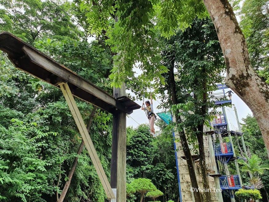 MegaClimb Climb Mega Adventure zip zipline Sentosa Imbiah Hill Singapore kids outdoor adventure