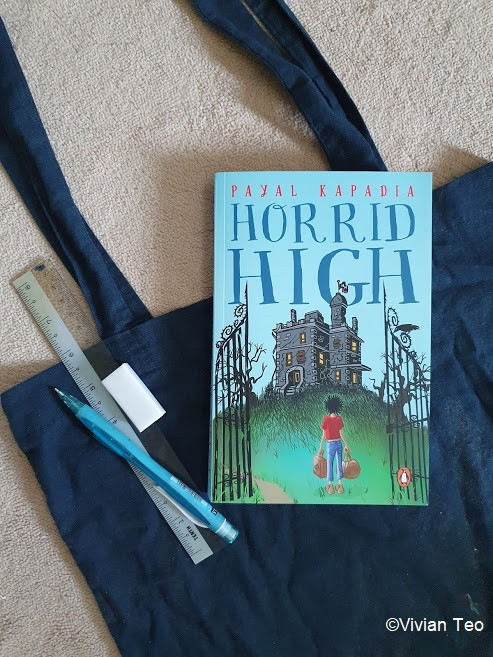 Read review horrid high Payal Kapadia middle grade book kidlit children book