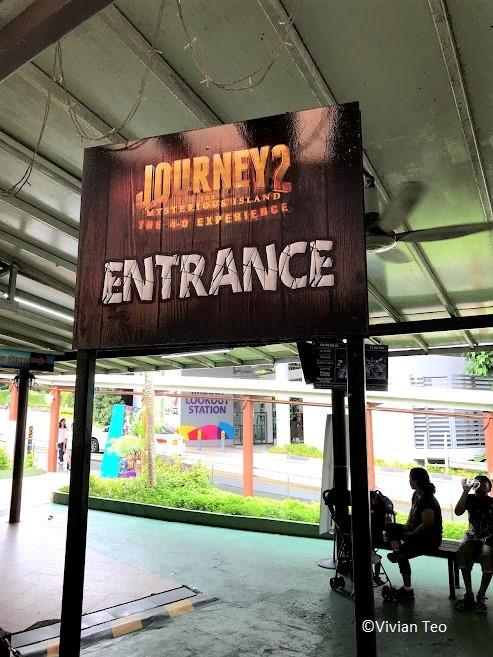 Sentosa 4D Adventureland Singapore Mysterious Island Journey