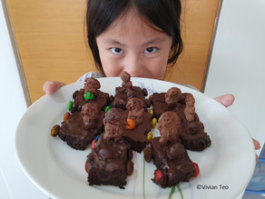 Stay-home fun with Genius R Us baking kit