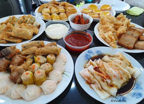 Ordering in from Singapore's Hong Kong Zhai House of Dim Sum