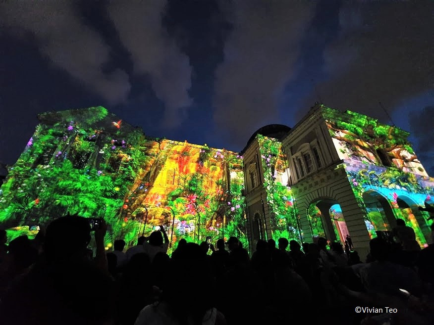 Keep Dreaming by Spectaculaires Singapore Night Festival 2019 National Museum