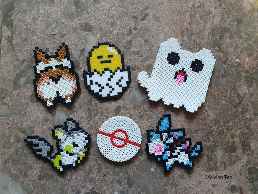 bead art hama perler pyssla kids stay home activity fun craft