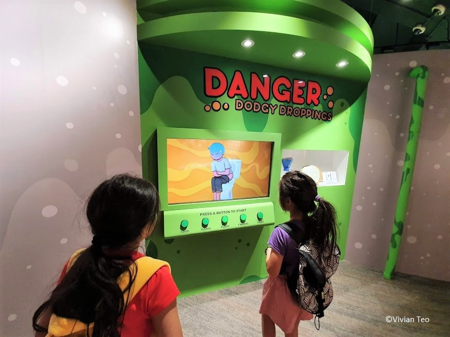 Singapore Science Centre know your poo exhibition