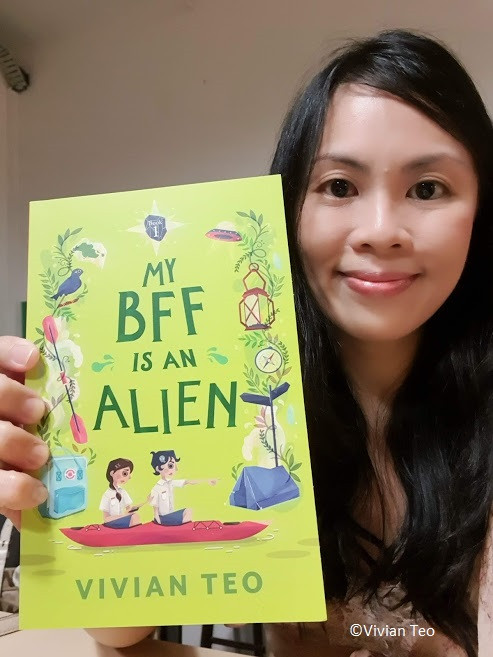 Vivian Teo My BFF is an alien middle grade book singlit singapore children friendship girls Epigram Books