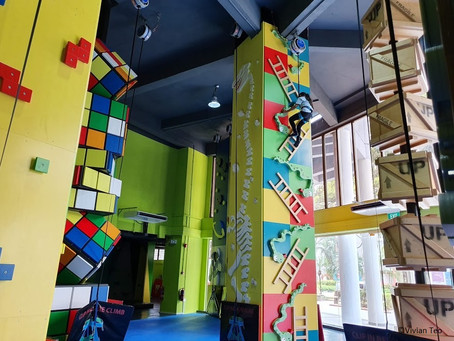 5 reasons why T-hall.sg's climbing fun zone rocks