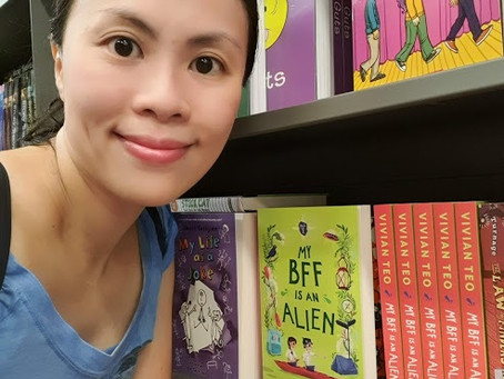 My BFF is an Alien is at Popular Bookstore Singapore!