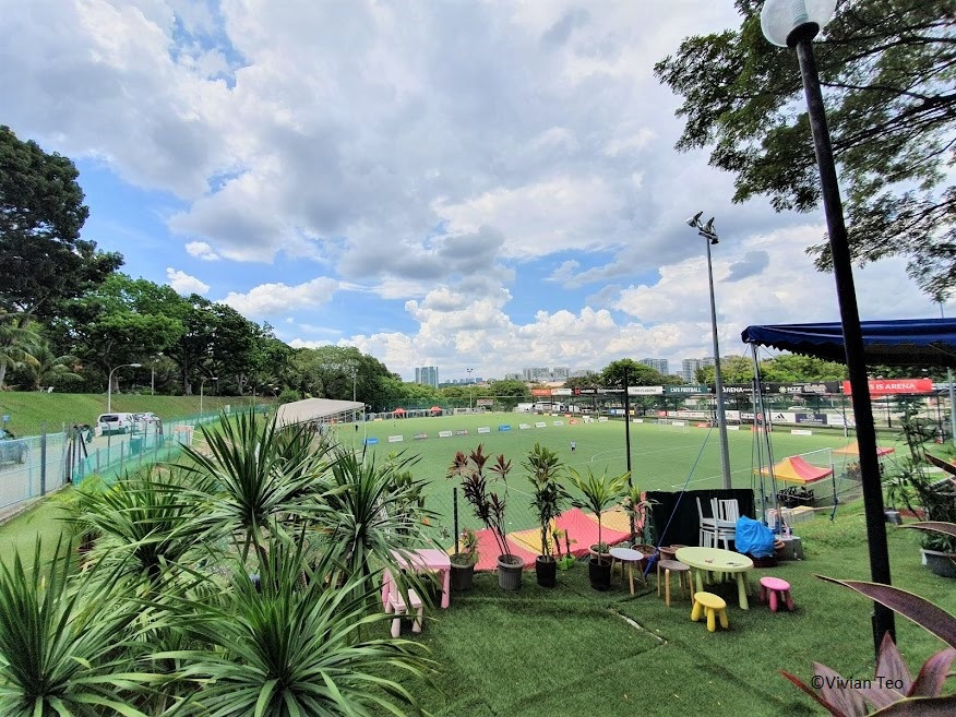 Woodleigh Park Singapore Arena PUB Recreation Club football pitch field