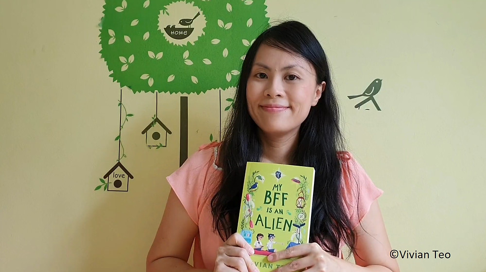 children kids Vivian Teo My BFF is an alien book middle grade singapore singlit epigram books