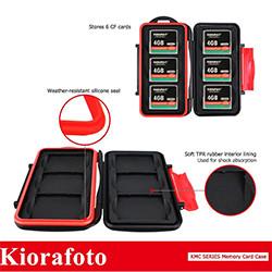 Kiorafoto CF メモリーカード 収納 ケース