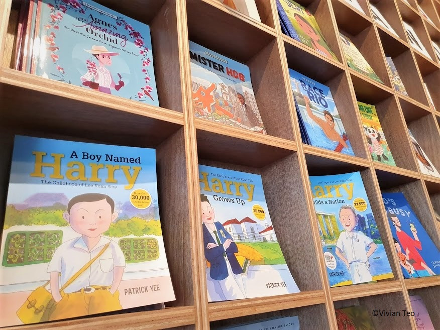Epigram Huggs Coffee Bookshop Singapore kidlit children books stories literature middle grade young adult Harry Lee Kuan Yew