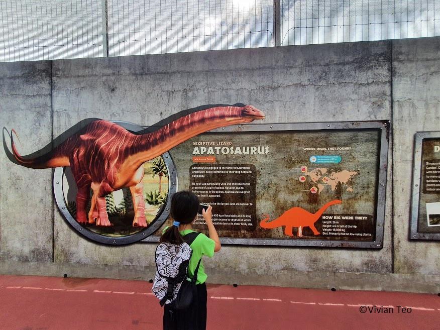 Jurassic Mile Singapore dinosaur Changi Airport connector