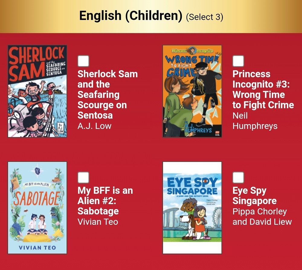 My BFF is an Alien Singapore middle grade Vivian Teo Popular Readers Choice Awards 2021 books children
