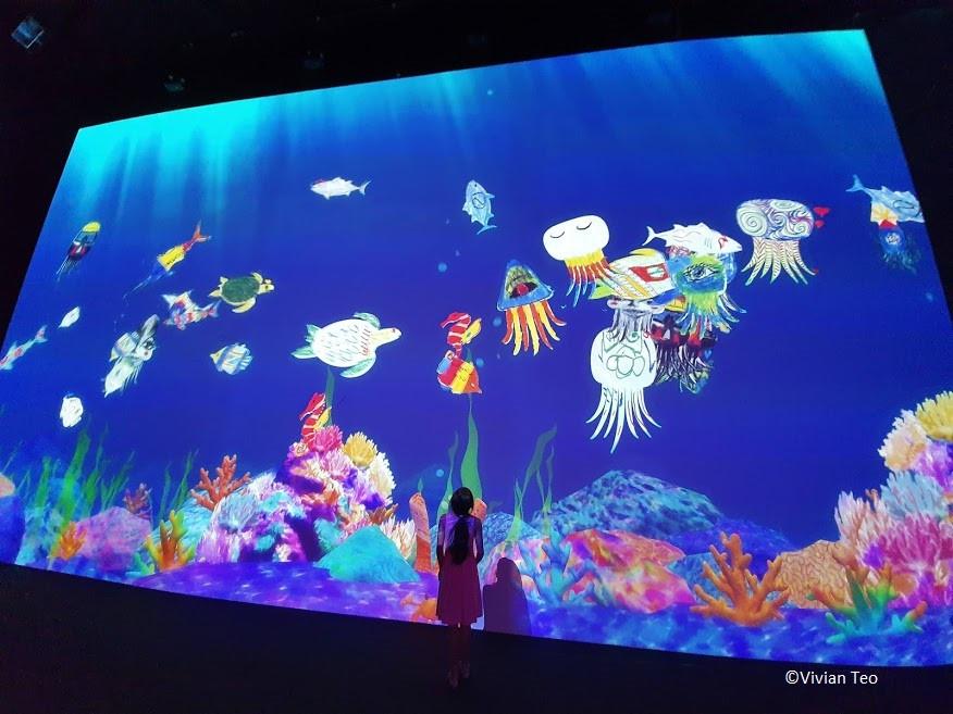 Future World Art Science Museum Marina Bay Sands Singapore