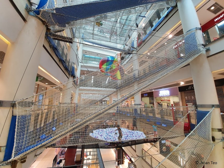 Airzone net playground at City Square Mall in Singapore