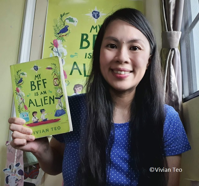 Popular bookstore books children kids bookfest Singapore readers choice awards winners Vivian Teo My BFF is an alien epigram