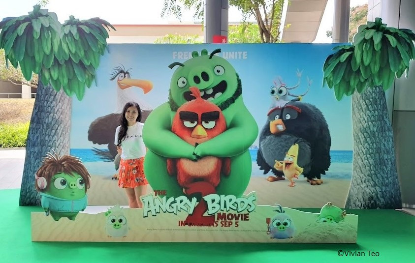 The Angry Birds Move 2 Nex mall Singapore