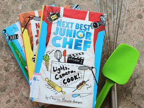 READ & REVIEWED: Next Best Junior Chef series by Charise Mericle Harper