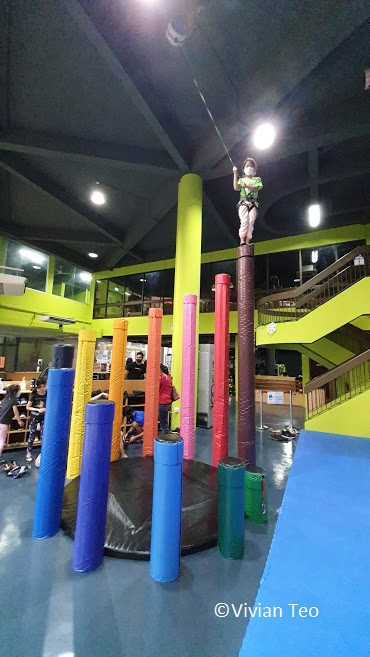 thall T-hall Singapore wall climbing children kids rock boulder activities AR augmented reality games