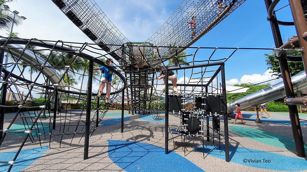 Nestopia Sentosa Singapore Siloso beach playground kids children