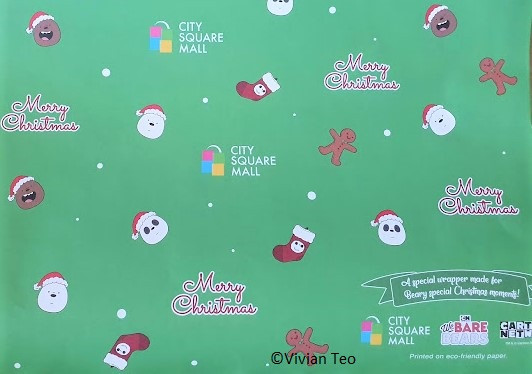 City Square Mall Singapore We Bare Bears Christmas