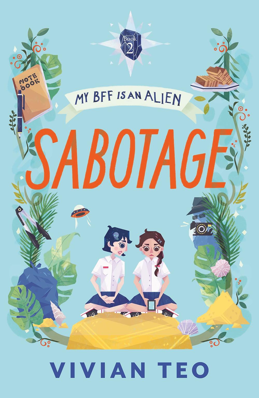 My BFF is an Alien Vivian Teo Singlit middle grade book children kids Singapore Epigram