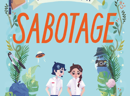 My BFF is an Alien: Sabotage now available at Epigram Books and Huggs-Epigram
