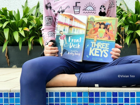 READ & REVIEWED: Front Desk series by Kelly Yang
