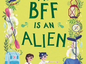 My BFF Is an Alien series by Vivian Teo