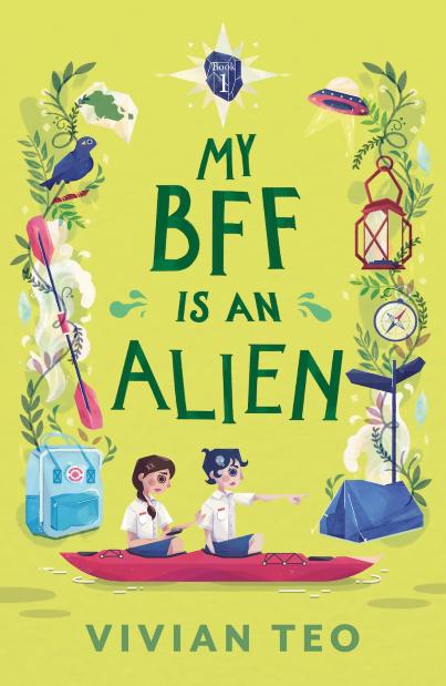 Singlit Singapore children book author middle grade Vivian Teo My BFF is an alien