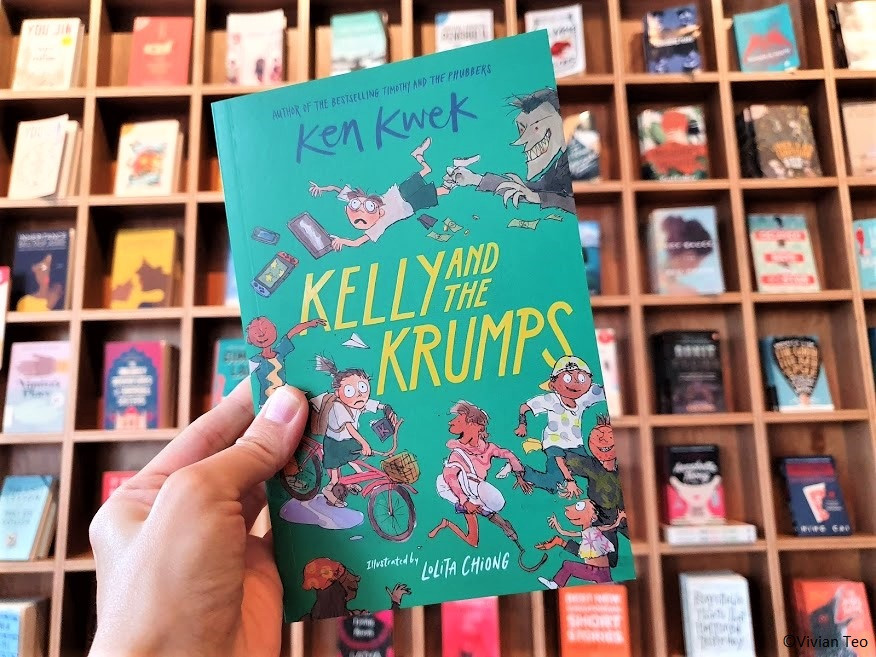 Kelly krumps ken kwek Epigram Huggs Coffee Bookshop Singapore kidlit children books stories literature middle grade young adult