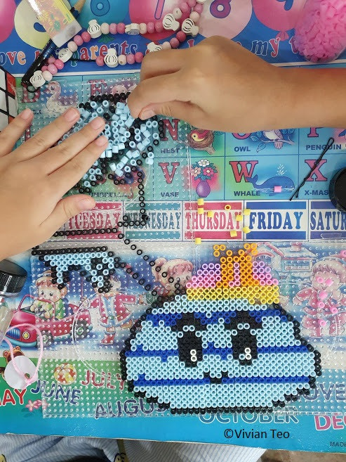 bead art hama perler pyssla kids stay home activity fun craft