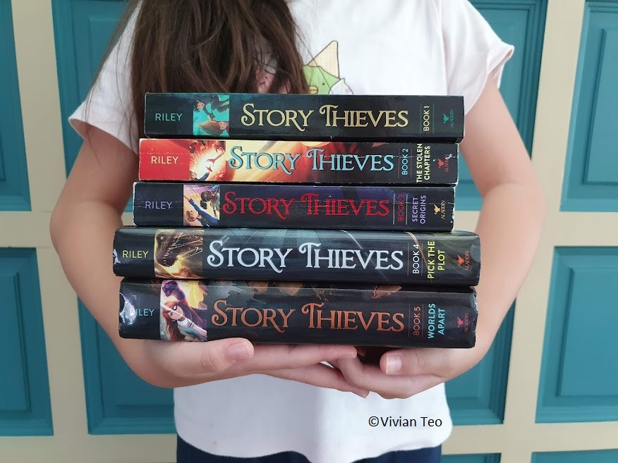 James Riley Story Thieves book review middle grade
