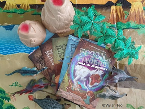 READ & REVIEWED: Fossil Finders series by Andy Chua