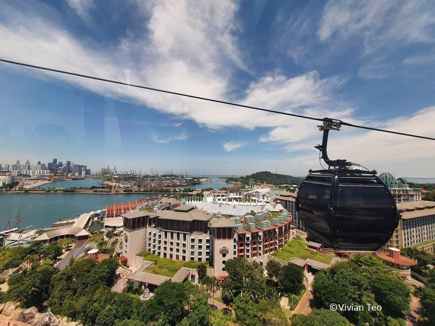cable car ride sentosa faber line singapore