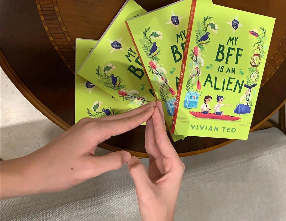My BFF is an Alien Singlit Singapore Epigram Books Vivian Teo middle grade girls story friendship