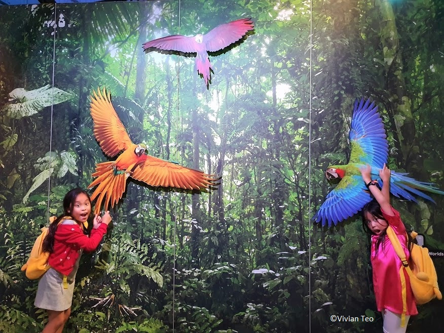 Living Worlds Animal Planet exhibition Singapore Science Centre