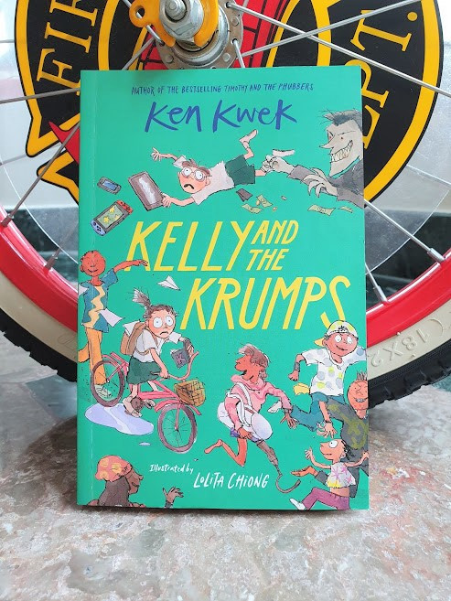 Kelly and the krumps Ken kwek Epigram Books Singapore Singlit
