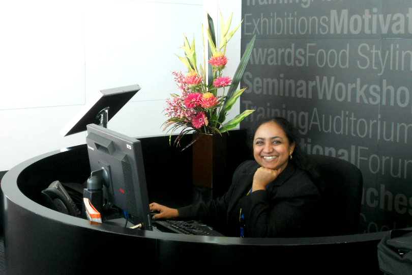 charismatic-receptionist