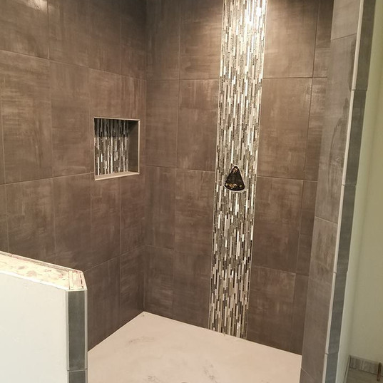 Tile Tub Enclosure