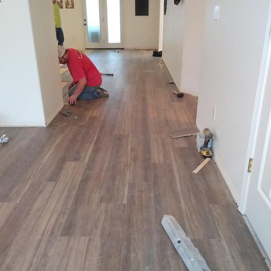 Installing Floor Boards