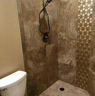 Tile Shower Enclosure