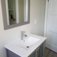 Sink and Mirror Installation