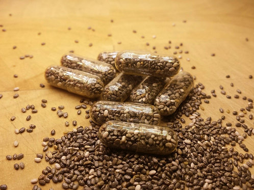 90 x Whole Raw Chia Seed 800mg
