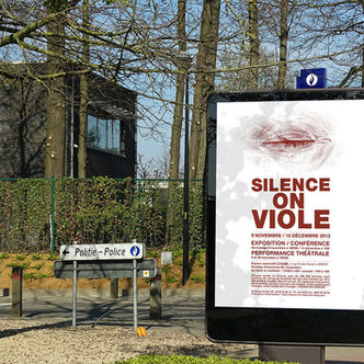 Silence on viole