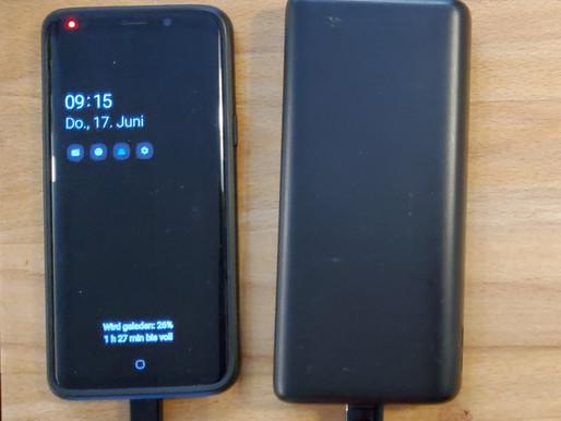 Handy aufladen – mit Strom aus der Sonne
