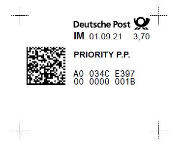Internet – Marke: Die Briefmarke zum Ausdrucken