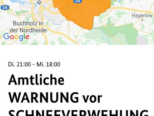 Nina Warn-App Wetterwarnung