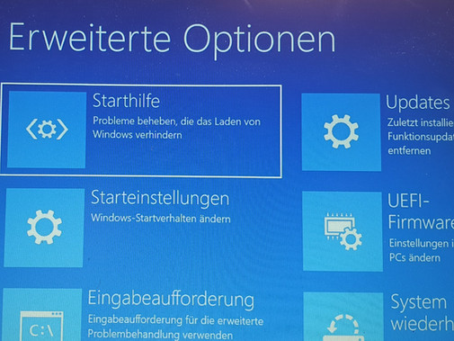 Notebook defekt – Blauer Bildschirm