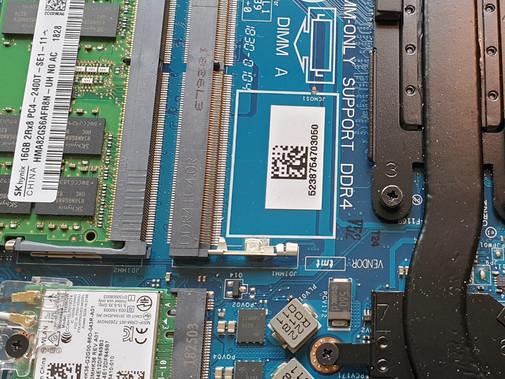 Notebook zur Reparatur – Fehler im System